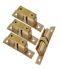 touch latch cabinet hardware magnetic brass furniture door push open catch latch cabinet hardware