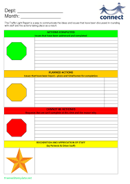 stoplight report template 1 professional and high quality