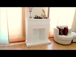 diy crafts decorative cardboard fireplace isa