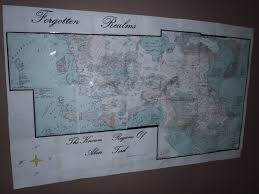 Map Of Faerun Dragonsfoot U2022 View Topic Forgotten Realms Map I Made