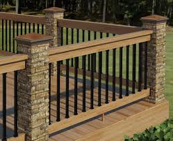metal deck railing stainless steel styles u2014 new decoration