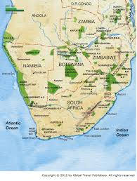 Africa Map Rivers Our Safaris