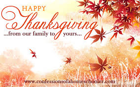 happy thanksgiving 2013 confessions of a homeschooler