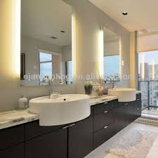 Led Backlit Bathroom Mirror Wall Mounted Frameless Backlit Bathroom Mirror For Hotel Emi 18