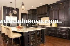 Dark Shaker Kitchen Cabinets Dark Cabinets With Dark Granite Kitchen Cabinets Black Solid