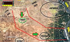 Likely Syrian Missile Targets In Google by Turkish Intervention In Syira Analysis Maps Videos Military