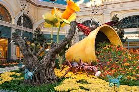 Botanical Gardens In Las Vegas The Bellagio Botanical Garden Is Just Another Beautiful Feature