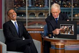 David Letterman Desk President Obama Pays Tribute To David Letterman On Night Of Final Show