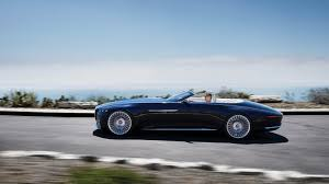 maybach 6 interior vision mercedes maybach 6 cabriolet electrifies pebble beach