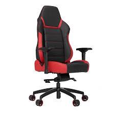 vertagear p line pl6000 racing series gaming chair black red