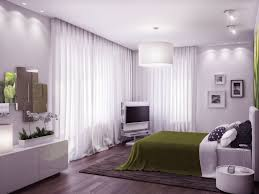 bedroom cozy white green bedroom with wooden floor and drum