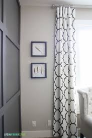 guide to hanging curtains and how long curtains should be ideas