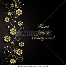 Gold Flowers Gold Flowers Stock Images Royalty Free Images U0026 Vectors