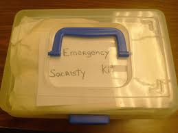 communion kits disaster preparedness diocesan altar guild