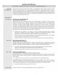 Resume Samples For Accountant by Resume