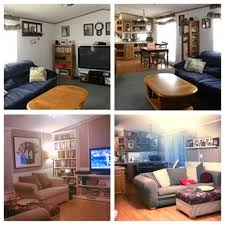 Before And After Living Rooms by Before And After Makeover Pictures Of Our Single Wide Mobile Home