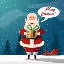 imagenes de santa claus feliz navidad ilustración de dibujos animados santa claus feliz navidad archivo