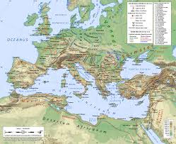 Topographic Map Of Europe by Index Of Genealogy History Maps Europe