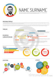 infographic ideas infographic curriculum vitae template best