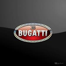 bugatti symbol bugatti 3 d badge on black photograph by serge averbukh