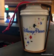mug ornament spotted disney parks exclusive starbucks mug and cup ornaments