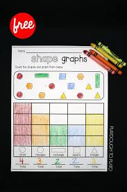 printable christmas graphs shape graphs graphing activities kindergarten and math