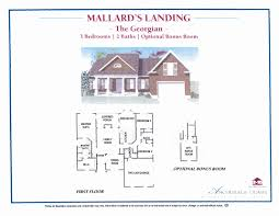 Georgian Floor Plan by Apple Realty Mallard U0027s Landing Mcdonough Ga