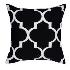 Modern Cushions For Sofas Black Pillow Geometric Cushions Decorative Throw Pillows Sofa