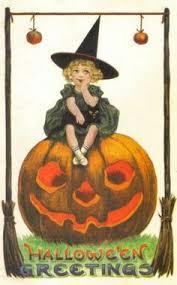 Vintage Halloween Decorations A Vintage Halloween More Holiday Halloween Pinterest