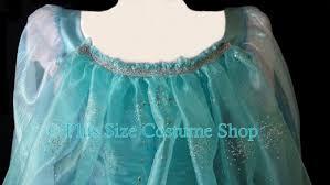 Elsa Halloween Costume Frozen Elsa Frozen Halloween Costume Size Super Size Halloween