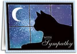 pet condolences cat themed sympathy cards smartpractice veterinary