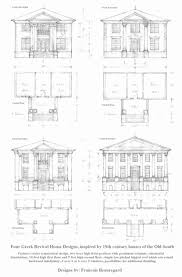 historic revival house plans revival home plans lovely house at symmetrical