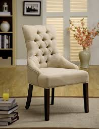 amazon com furniture of america dena flax fabric accent chair