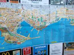 Monte Carlo Map Day 47 48 Or French Paradise And F1 Circuit In Monaco Adventure