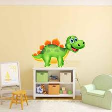 chambre dinosaure sticker dinosaure pour décoration chambre enfant