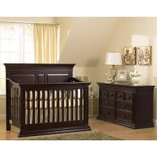 Baby Cache Lifetime Convertible Crib by Bedroom Cool Dark Brown Sleigh Crib Design With Nightstand And