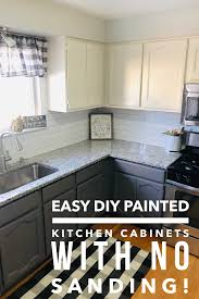 how easy is it to paint your kitchen cabinets paint your kitchen cabinets diy kitchen cabinets painting