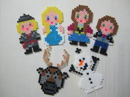 disney frozen characters perler beads by angela albergo craft