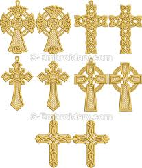 easter free standing lace cross ornaments sku 10400
