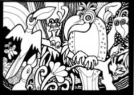 africa coloring pages for adults justcolor page 2