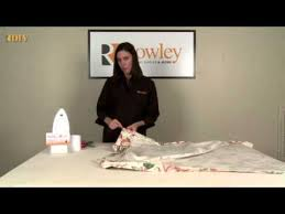 How To Use Buckram In Curtains Diy Making Drapery Panels With Buckram Header Youtube