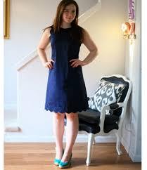 tutorial scalloped shift dress u2013 sewing
