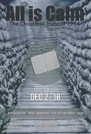 all is calm the christmas truce of 1914