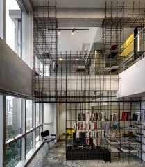 Reinvention Of An Industrial Loft Sculptural Steel Rods Transform A Loft Into A Work Of Art