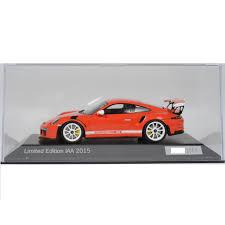 porsche 911 model cars model cars porsche 911 991 gt3 rs 1 43 limited iaa edition