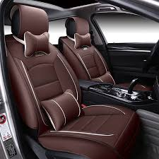 siege golf 4 special leather car seat covers for volkswagen passat b5 b6 polo