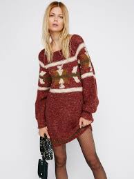Free Northern Lights Sweater In Lyst Free Northern Lights Sweater Dress