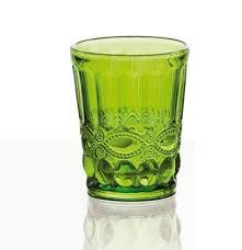 bicchieri verdi fade provence set 6 bicchieri velvet