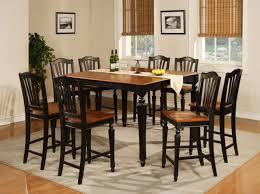 solid oak dining room furniture black wood dining room sets