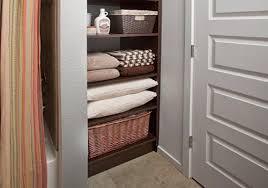 Open Bathroom Shelves How To Keep Your Linen Closet Organized